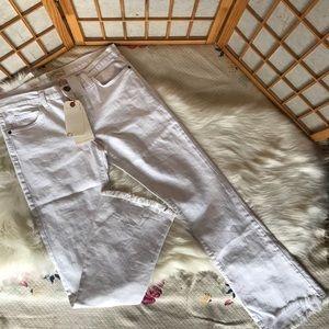 Current/Elliot flip flop jeans in sugar